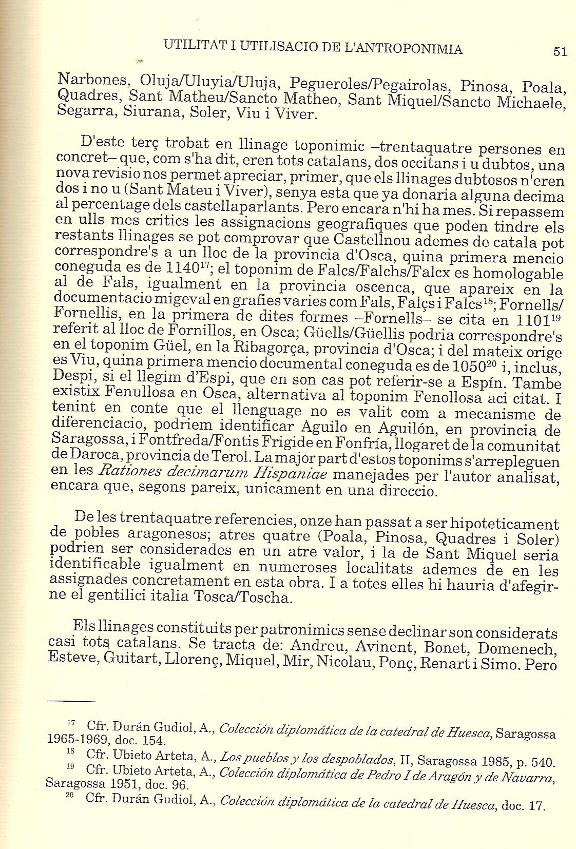 Estudio de Amparo cabanes, en la Revista de Filologia Valenciana. La falsa repoblaci�n catalana de Valencia