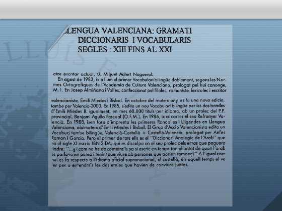 Literatura de la lengua valenciana