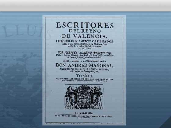 Escritores del Reino de Valencia
