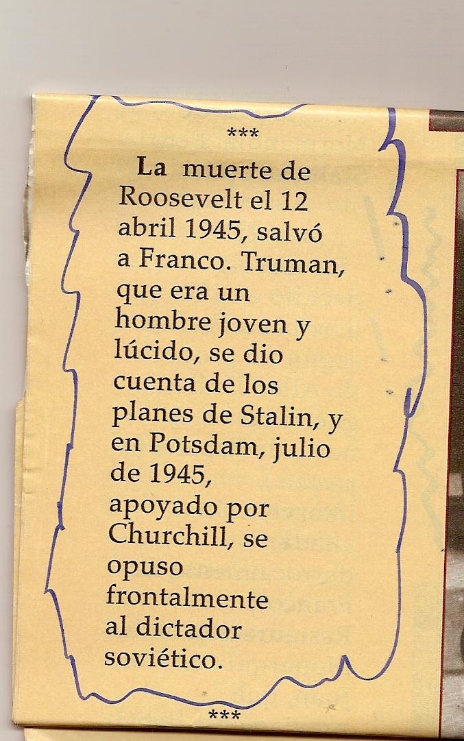Franco y los Aliados